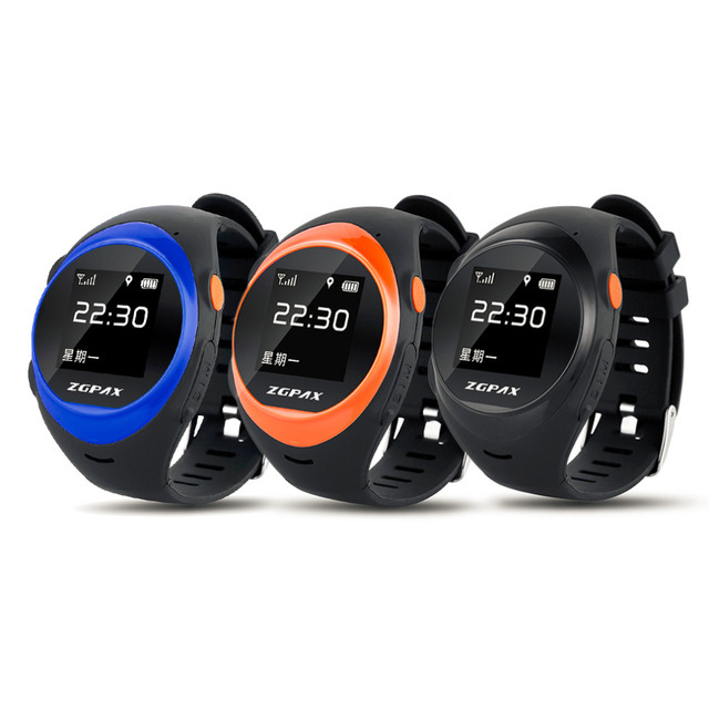 2016 new S888 Bluetooth WiFi Smart Watch Waterproof Old Man Child Anti-lost Smartwatch Tracker GPS Watch Sim for Android/IOS