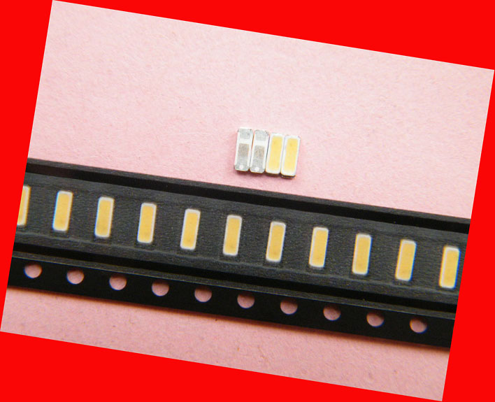 100piece/lot FOR repair LCD TV LED backlight Article lamp SMD LEDs LG 4014 3V Cold white light emitting diode
