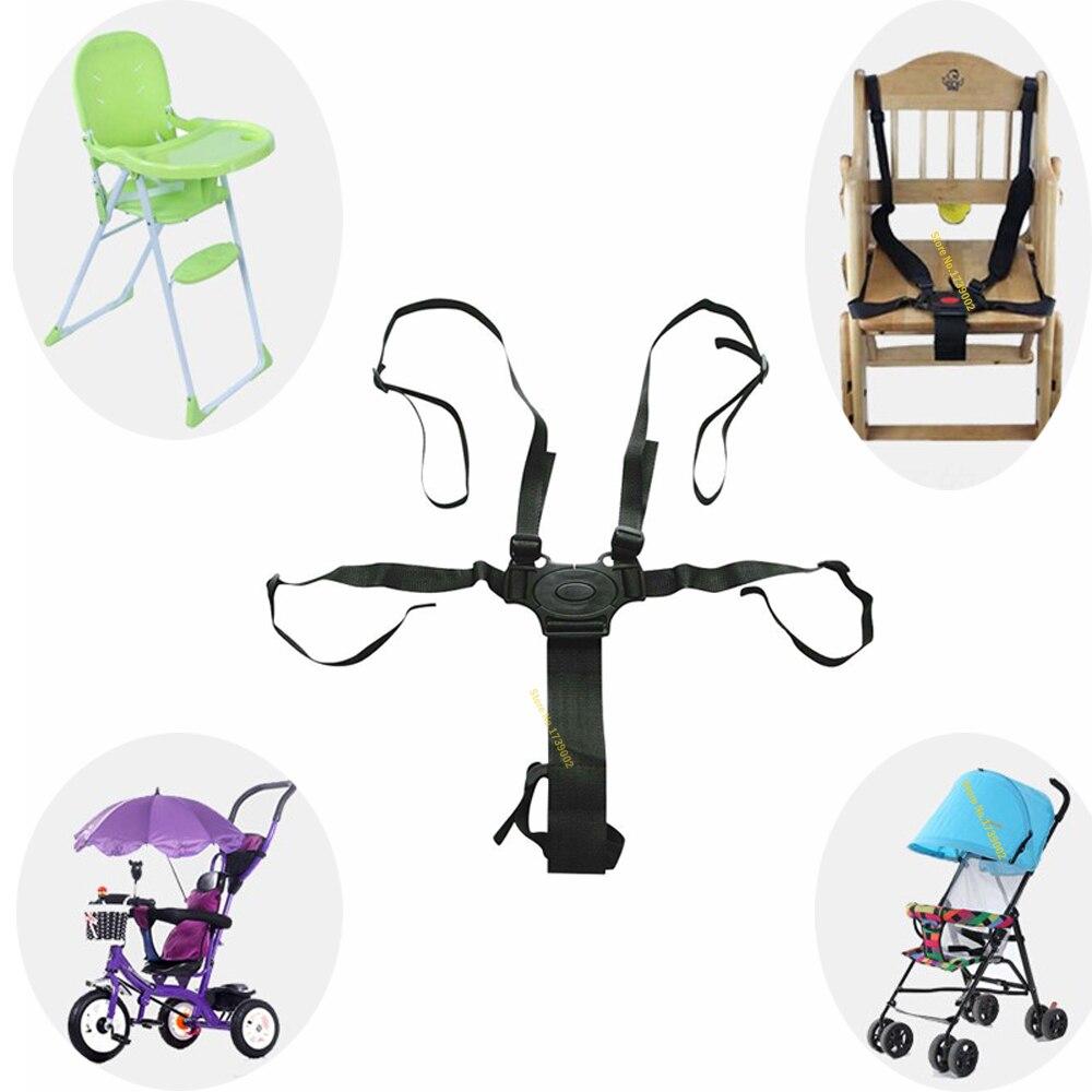 Baby Seat Belt Car Seat Safety Baby Chair Belt Strap Universal High Chair Durable Pushchair
