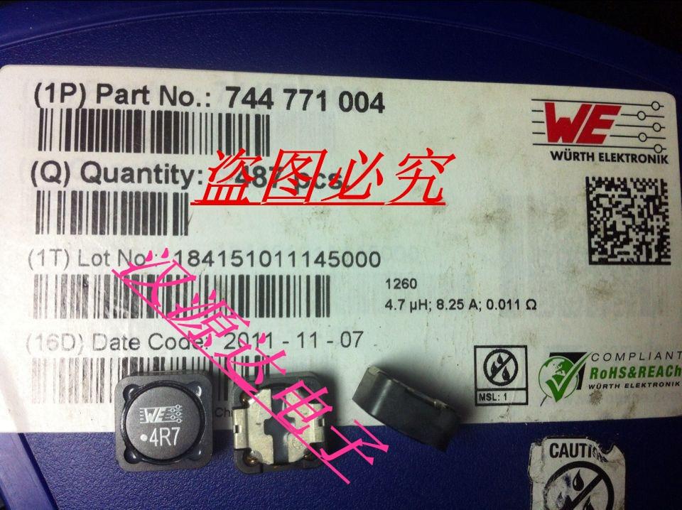 744771004 WE4R7 4 7UH 8A 12X12X6MM WURTH shielded SMD power