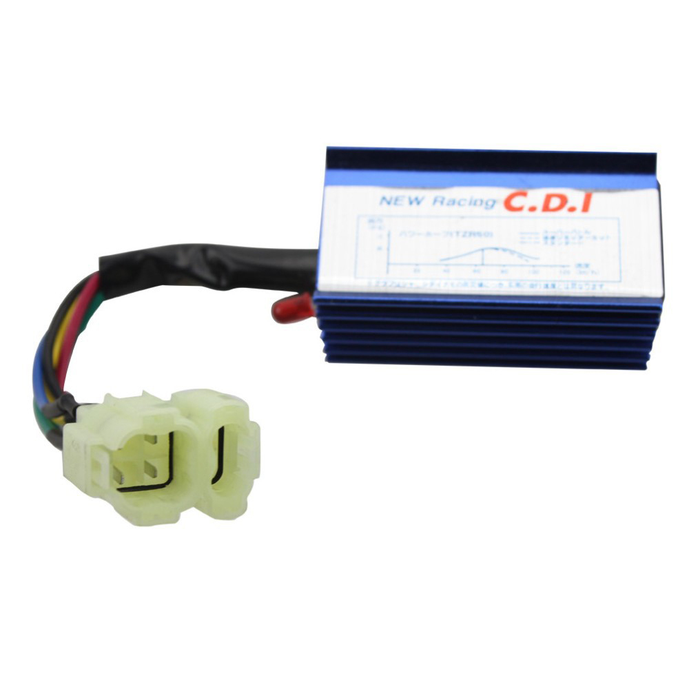 hight resolution of goofit 6 pin performance racing cdi for gy6 atv 50cc 60cc 80cc 125cc 150cc moped go