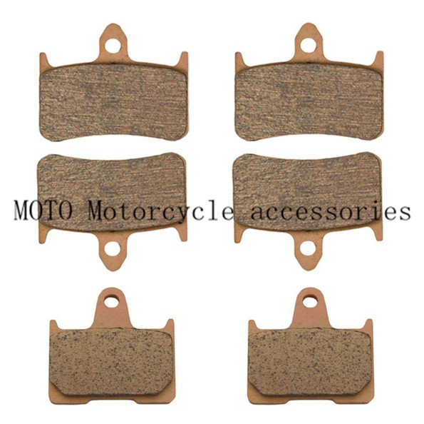 High Quality Motor Bike Front Brake Pads & Rear Brake Pads For Honda CB1300 X4 DCV DCW DCX DCY SC38 Sintered Brake Disc Pad favourite уличный светильник favourite colosso 1817 1f