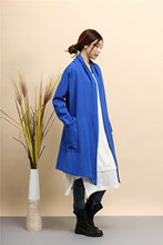 pure linen dust coat Cardigan irregular hem Cape Poncho Shawl cape Women