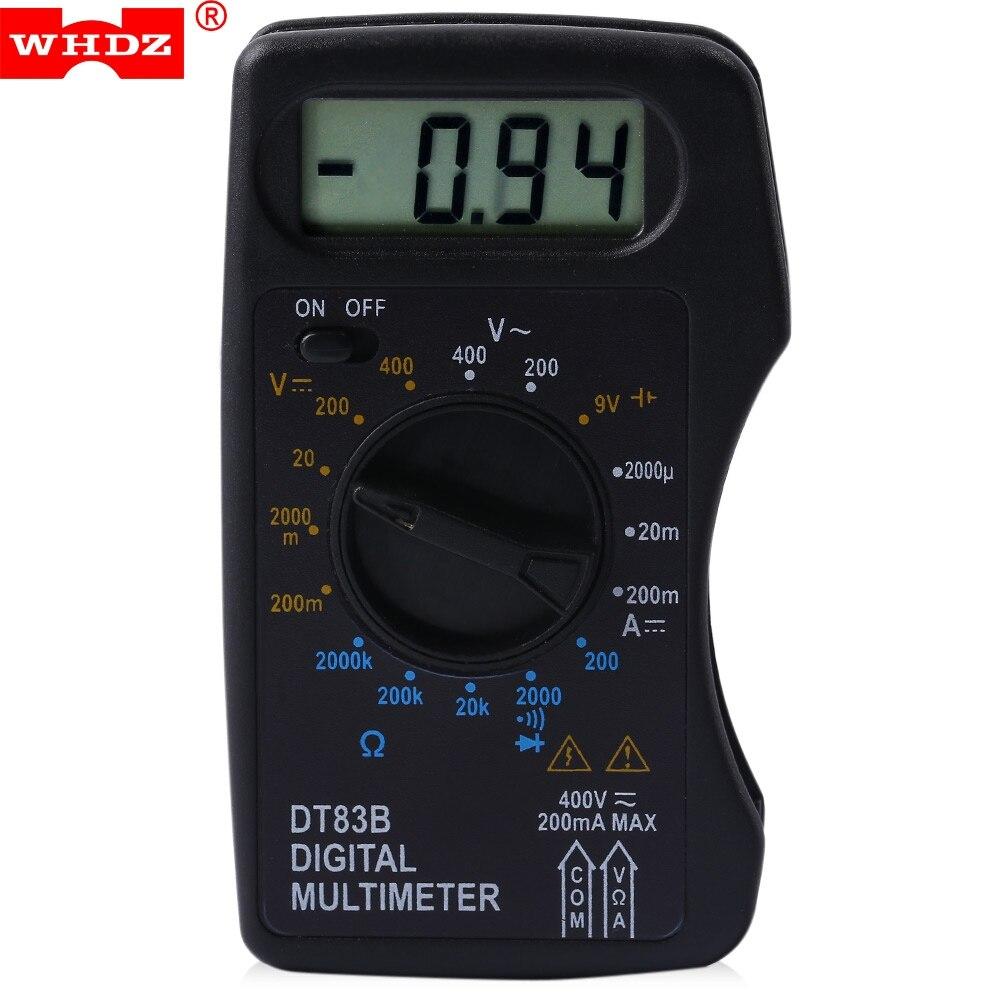 Multimeter At Walmart : New hot whdz dt b portable digital multimeter ac dc