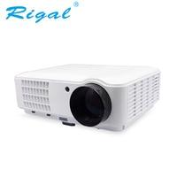 Rigal проектор RD804 светодиодный Smart Проектор Android Wi-Fi 4000 люмен проектор портативный HD проектор 1080 P светодиодный Проектор для домашнего кинотеа...