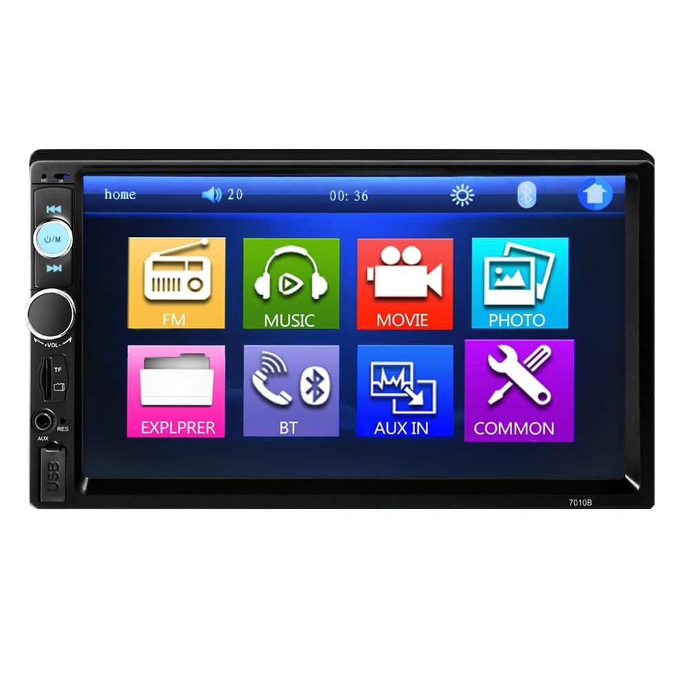 OllyMurs 7010B 7 Inch Bluetooth V2 0 TFT Screen 12V Car Audio Stereo MP5 Player Auto