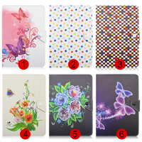 Flower Butterfly Wave Point 10inch Universal Tablet Case For ARCHOS 101 Neon 101 Xenon 101 XS
