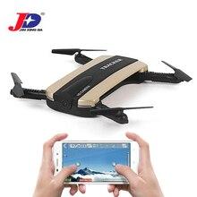 JXD 523 523 Вт Радиоуправляемый Дрон трекер складной мини-Дрон с Wi-Fi FPV-системы HD Камера высота Удержание селфи Quadcopter вертолет открытый Игрушечные лошадки