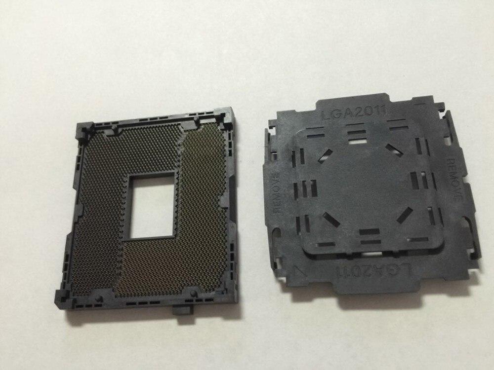 LGA 2011 X79 Series Motherboard Soldering CPU Socket R with Tin Balls new lga 1155 cpu bga soldering motherboard socket w tin balls