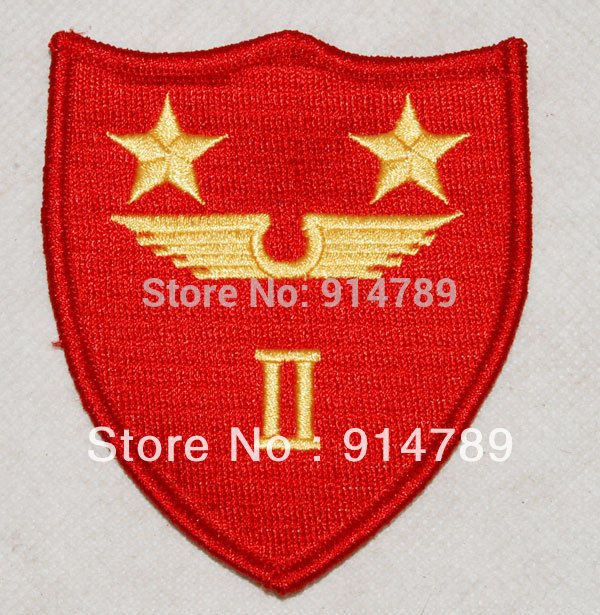 US MARINE CORPS 2ND MARINE AIR WING COMMAND EMBROIDERY PATCH -32415
