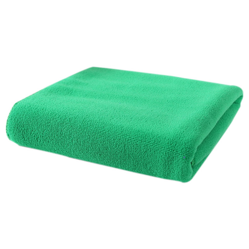Alim Saugfähigen Mikrofaser Bad Strand Handtuch Trocknen Waschlappen Bademode Dusche (dunkelgrün) Produkte Werden Ohne EinschräNkungen Verkauft