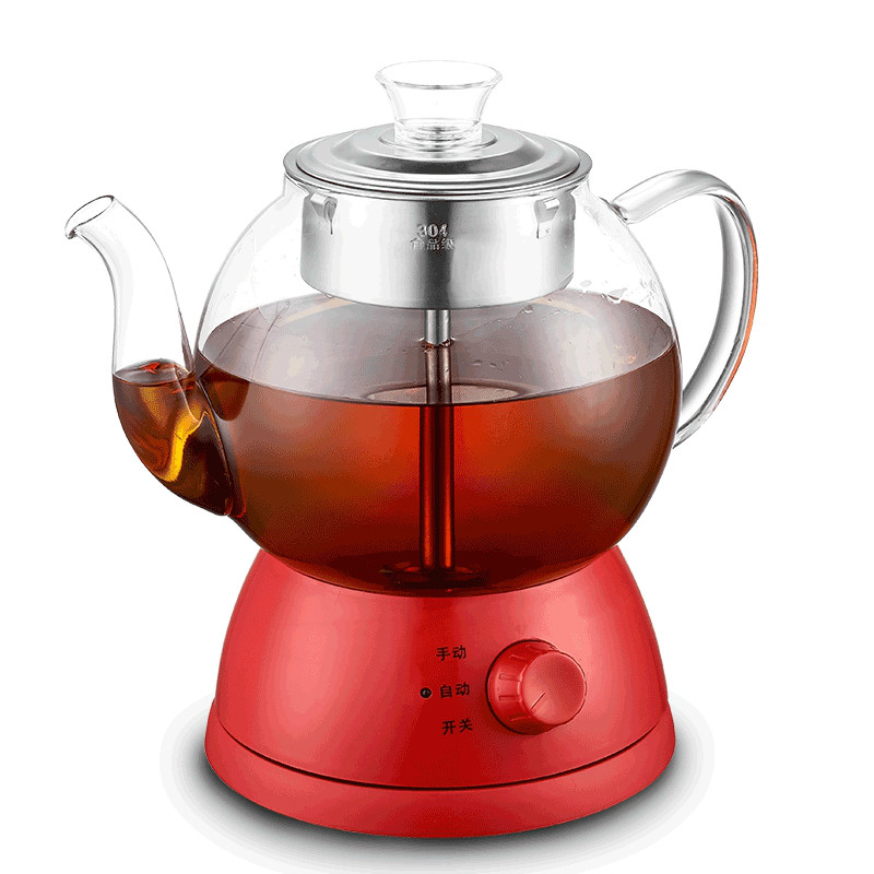 Full automatic and thickened glass multi-function electric heating kettle steam black tea brewing tea/electric kettles full automatic thickened glass multi function heating kettle steam black tea brewing electric kettles overheat protection