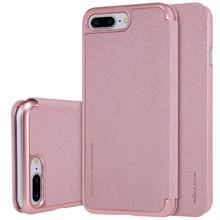 Чехол для iPhone 7 Plus чехол Nillkin Sparkle PU + PC кожаный чехол откидная крышка жесткий задняя крышка для iPhone 7 Plus Чехол 5.5 дюймов
