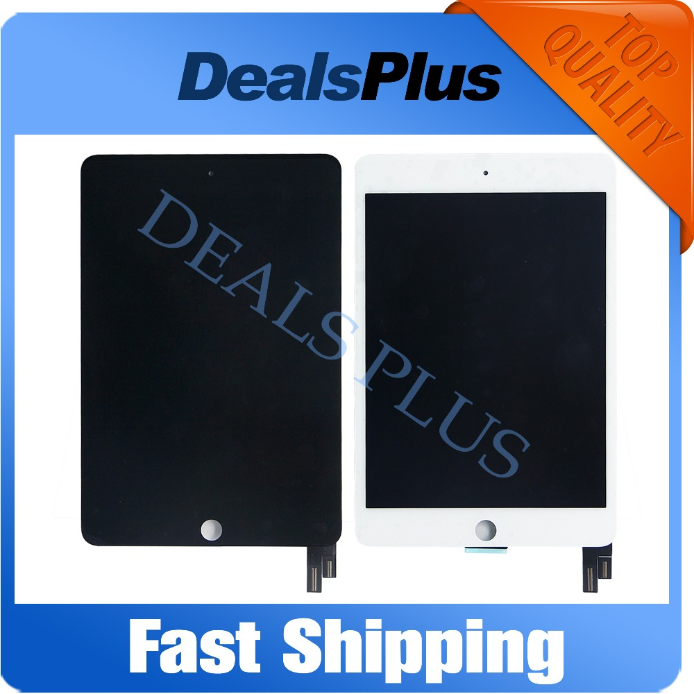 Replacement New LCD Display Touch Screen Assembly For iPad Mini 4 A1538 A1550 Black White Free Shipping