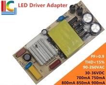 36W Lighting Transformer TV3612 LED Driver Adapter 700mA 750mA 800mA 850mA 900mA Power Supply DIY LED Corn lamp LED Panel light