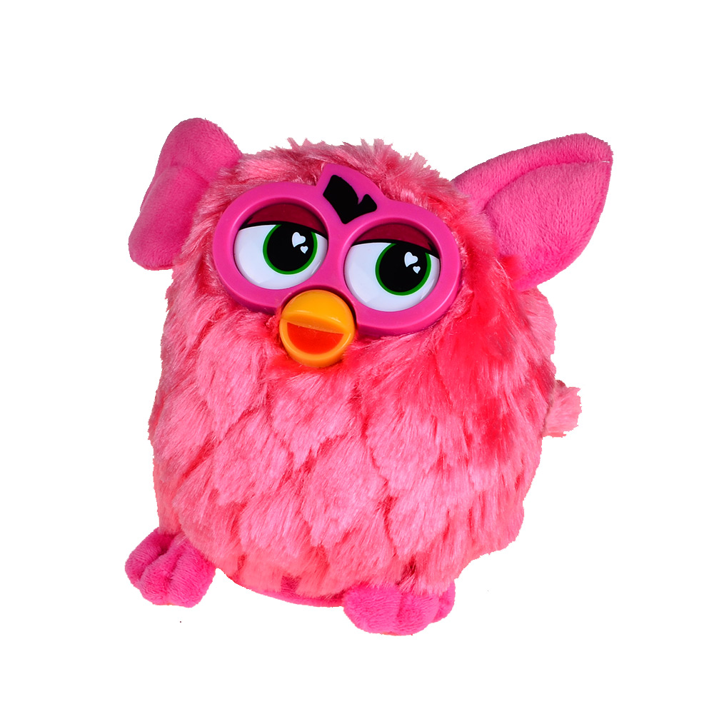 Talking Plush Owl Phoebe - Înregistrare electronică și interactivă care repetă animale de companie robotizate - Jucării cadou pentru copii-17 CM