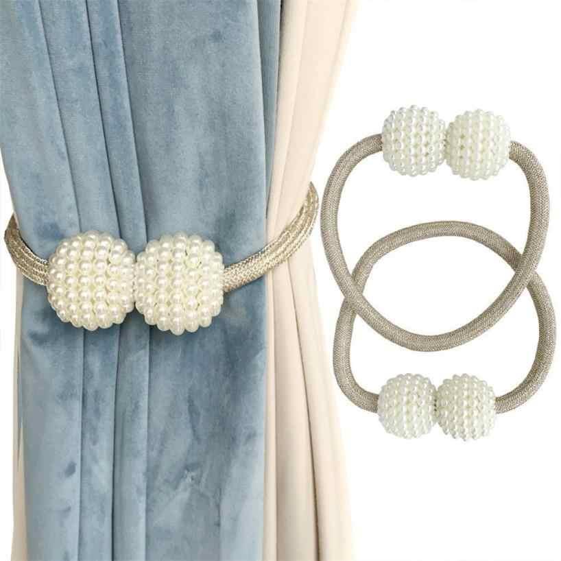 1 Pair Curtain Tiebacks Clic
