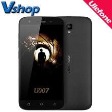 Оригинал Ulefone U007 3 г мобильные телефоны Android 6.0 1 ГБ Оперативная память 8 ГБ Встроенная память Quad Core Смартфон 720 P 8MP Dual Sim 5.0 дюймов сотовый телефон