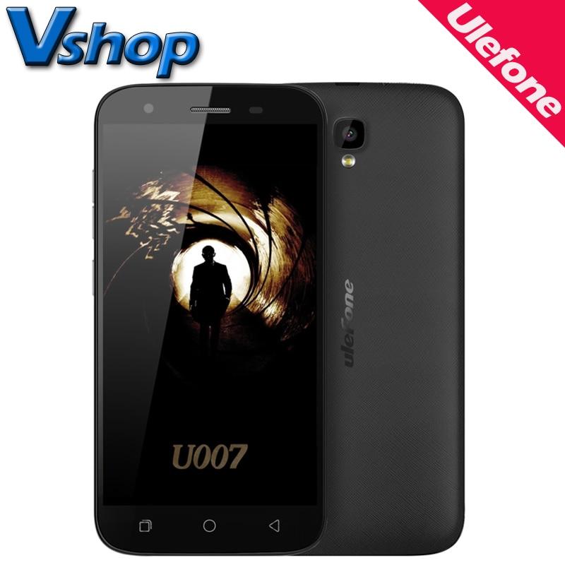 Original ulefone u007 3g teléfonos móviles android 6.0 1 gb ram 8 gb ROM Quad Co