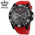 Smael casual relógios digital led relógio de quartzo liga analógico relógios digitais homens relógio masculino à prova d' água relógios de pulso relogio ws1035