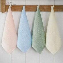 Baby Face Towel 25x25cm Bamboo Cotton Soft Towels Children Handkerchief Newborn Feeding Bib Washcloth Wipe burp cloths
