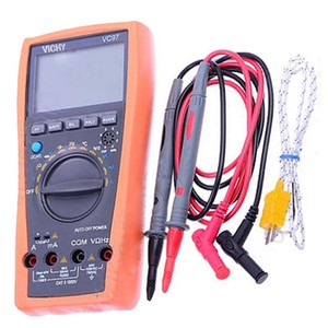 Автоматический цифровой мультиметр FLUKE True RMS аналоговый бар VC97 31/2 AC DC R C F темп 3 3/4 Емкость Частота температурный тестер