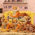 30 см малый симпатичный плюшевый тигр прекрасный кукла животных подушка дети дети подарок на день рождения новый горячая распродажа