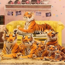 30cm Small cute plush tiger toys lovely stuffed doll Animal pillow Children Kids birthday gift New hot selling(China)