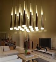 Meteor Shower Conical Art LED  lights Living Room Bedroom Study Room Restaurant Commercial Lighting Ceiling Chandeliers