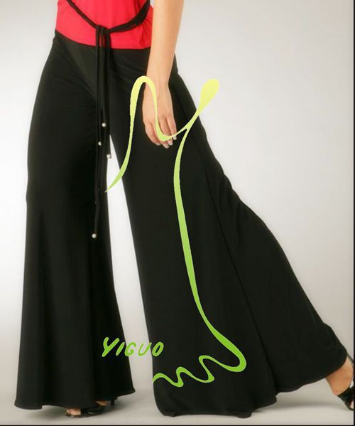 Ballroom Dancing Fox trot Quick step tango Modern tango Waltz competition practice pants trousers