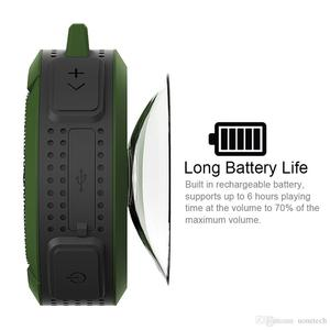 Image 4 - Bluetooth スピーカーミニポータブル防水ワイヤレススピーカー吸盤サポート TF カード iphone スマートフォン屋外スピーカー