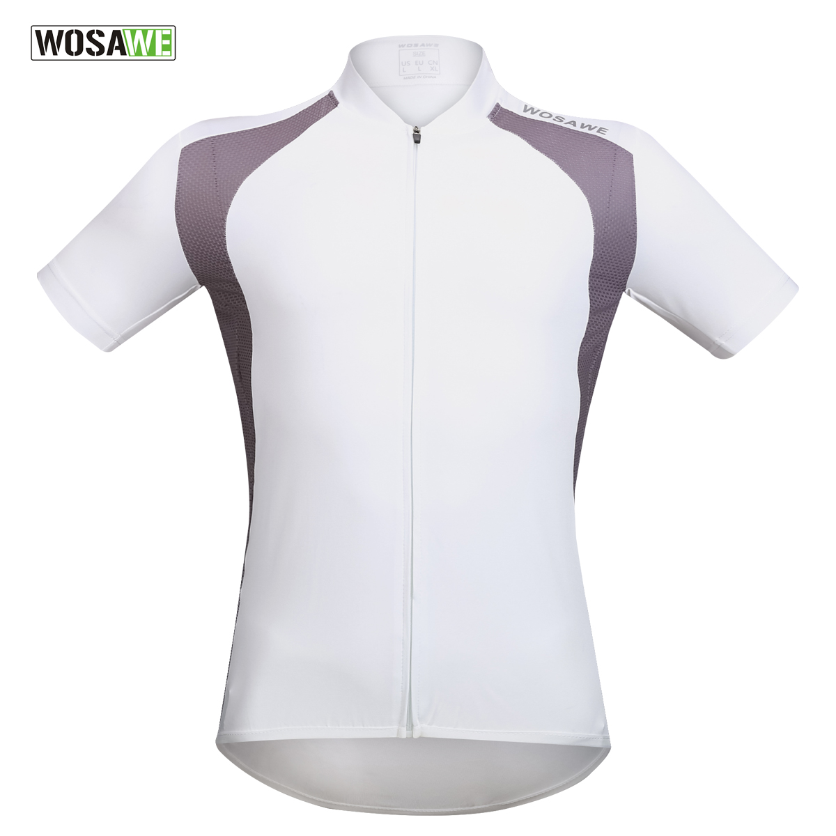 WOSAWE Cycling Jersey Ropa Ciclismo Summer Excellent Elasticity Summer Men Quick Dry Bicycle Wear Black and White S-2XLWOSAWE Cycling Jersey Ropa Ciclismo Summer Excellent Elasticity Summer Men Quick Dry Bicycle Wear Black and White S-2XL