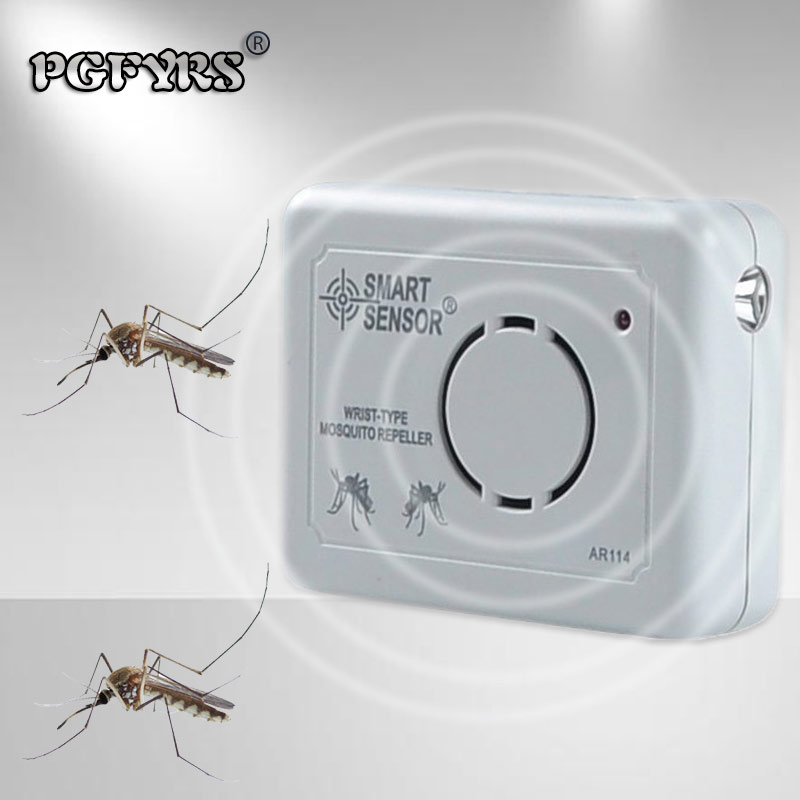 NEW 2019 electronic pest repeller ultrasonic rejector outdoor tech Square Portable mosquito repellent