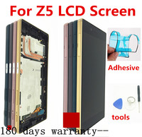 Voor Sony Xperia Z5 E6633 E6683 Lcd Touch Screen Digitizer Vergadering Met Frame Dual Card 1920*1080 Voor 5.2