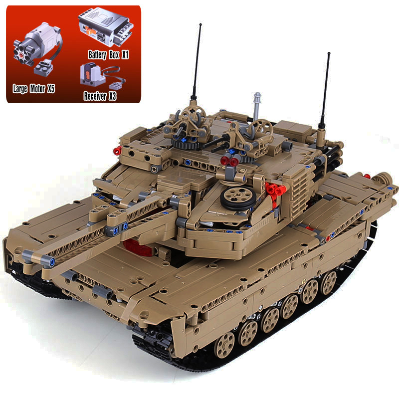 Lepin 20070 The Remote Control Tank Set Genuie 1572Pcs Military War Series Building Blocks Bricks Educational Toys As Funny Gift new military series world war ii germany panzer iv tank building brick block toys compatible with lepin