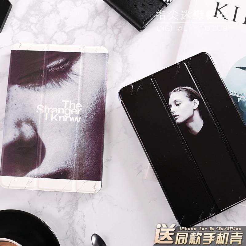 все цены на Retro Black White Mini4 Mini2 Mini3 Lovers Flip Cover For iPad Pro 9.7