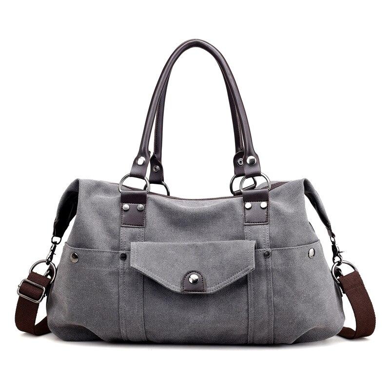 Canvas Bag Vintage Shoulder Bag Handbags Ladies Hand Bag Tote Leisure Bolsos Mujer Hobos Bolsas Feminina