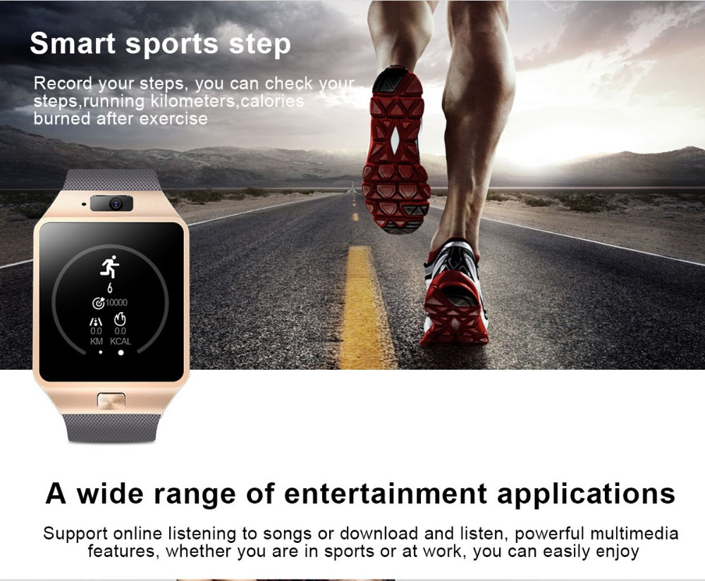 TORNTISC QW09 Unisex 3G Smart Watch For Android Phone With WIFI Real-Pedometer And Calling Benefit 4