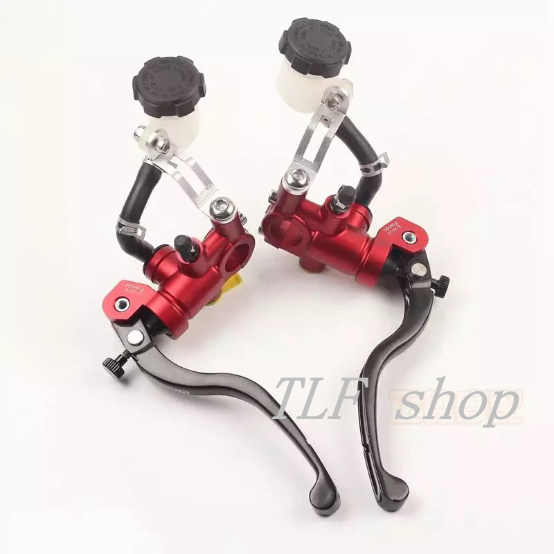 1(pair) Universal motorcycle brake clutch pump master cylinder lever For Yamaha Kawasaki Suzuki honda Aprilia triump Radia Brake for harley yamaha kawasaki honda 1 pair universal motorcycle saddle bags pu leather bag side outdoor tool bags storage undefined