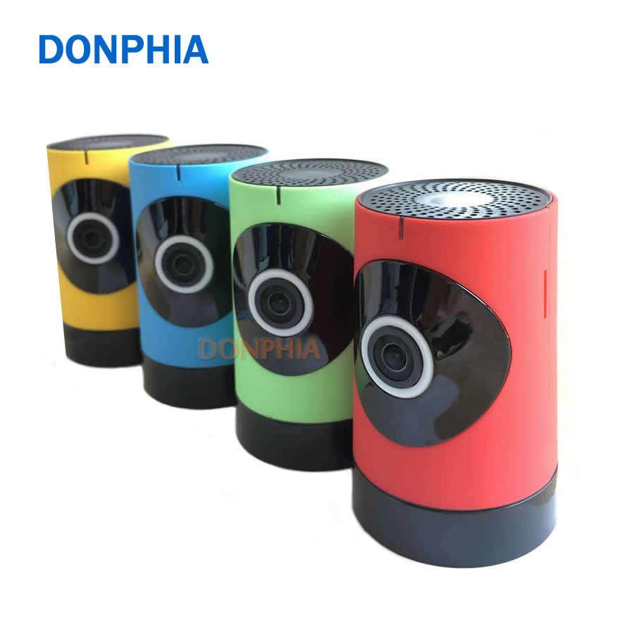 bilder für DONPHIA Wirelees IP Panorama Kamera Mini 720 P Fisheye Objektiv Wifi Babyphone 1.3MP 180 grad Netzwerk Babysitter Multi Farbe