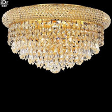 Gold Ceiling Lights bedroom / home crystal lamp hall lamp light modern kitchen 40cm W x 20cm H