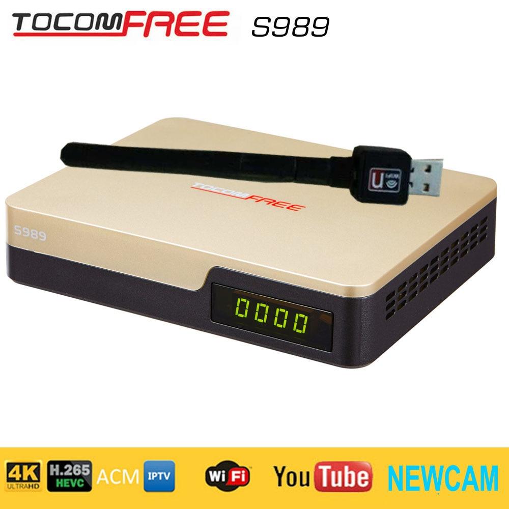 TOCOMFREE S-989 HD ACM NOVA ATUALIZAÇÃO - 15/05/2017 S989-Tocomfree-receptor-de-TV-por-sat%C3%A9lite-com-a-ACM-H-265-iks-livres-sks-HD