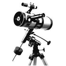 Visionking télescope astronomique, monture équatoriale, 1000, 114mm, étoile, lune, saturne/Jupiter de grande puissance