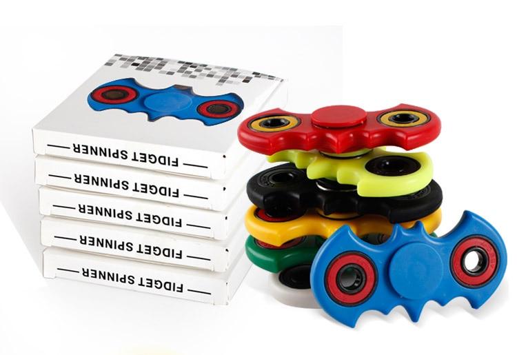Hand Spinner Fidget Batman EDC Handspinner Stress Cube Fidget Spinner Tri-Spinner Fidget Toy Adults Focus Anti Stress Gifts
