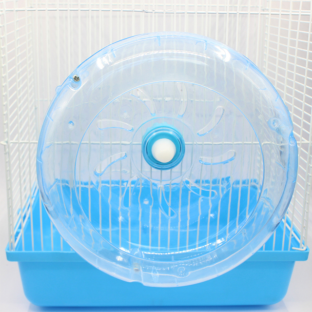 Jaula Hamster Wheel Toy Hedgehog Guinea Pig Running Sports Wheel Fixed 19CM Rat Running Wheel Toys Pet Accessories Supplies Ball 4
