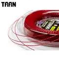 TAAN 1.20mm 1 bobine puissance Spin torsion raquette de Tennis chaîne Polyester noir Tennis entraînement chaîne 200 m