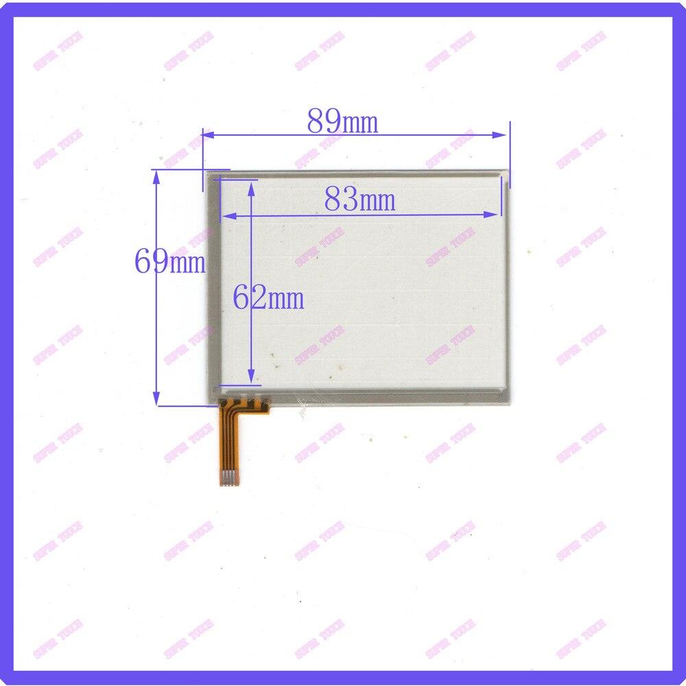 4.0-inch four-wire resistive touch screen handwriting external screen 89 * 69 Acquisition Digital Versatile screen