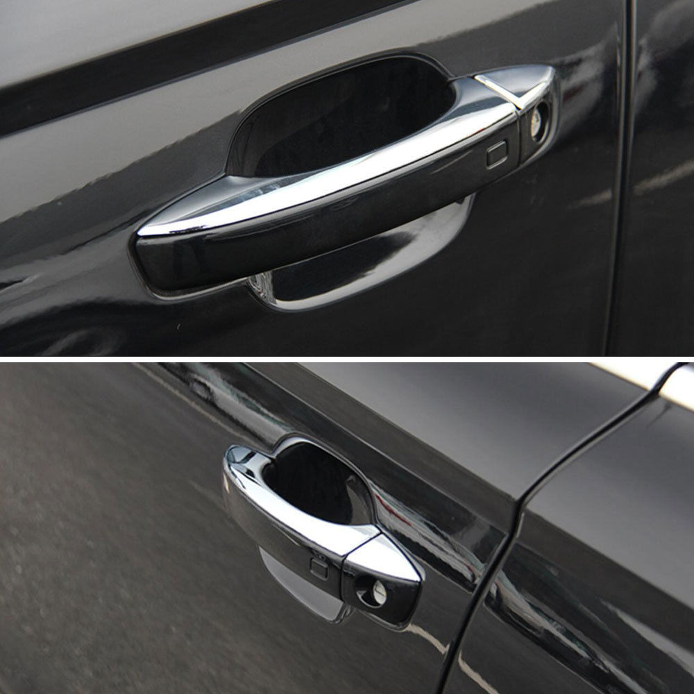 8x Chrome ABS Car Door Handle Cover Trim Bezel Overlay Sticker ... on audi b8 door handle, volvo s40 door handle, ford excursion door handle, mazda6 door handle, alfa romeo 164 door handle, nissan maxima door handle, fiat panda door handle, chevrolet silverado door handle, toyota supra door handle, acura nsx door handle, nissan sentra door handle, porsche macan door handle, chevrolet aveo door handle, cadillac srx door handle, pontiac grand prix door handle, cadillac catera door handle, acura rl door handle, ford fairlane door handle, fiat 500 door handle, hyundai equus door handle,