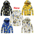 Boys Girls cartoon Jacket long-sleeve 2017 New Spring Winter baby girl clothes Children Kids hooded warm Coat Outerwear