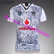 La MaxPa for New Zealand Warriors Rugby Suit 2016-17NBL Rugby Warriors rugby jersey